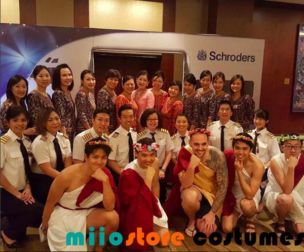 Pilot and SQ Kebaya Costume Dressup - miiostore Costumes Singapore