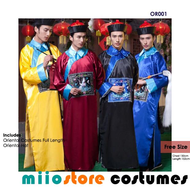 OR001 Oriental Costumes - miiostore Costumes Singapore