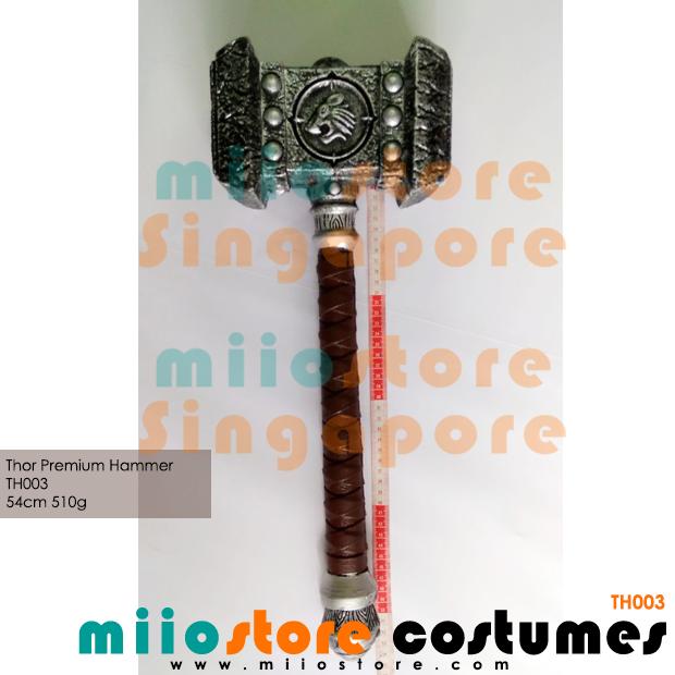 Thors Hammer Mjolnir Life Size - miiostore Costumes Singapore - TH003