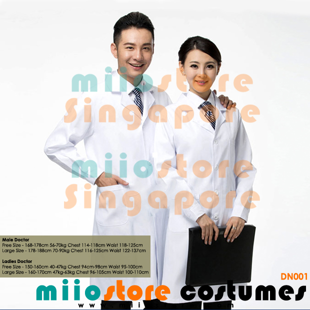 DN001 - Doctor's Costumes - miiostore Costumes Singapore