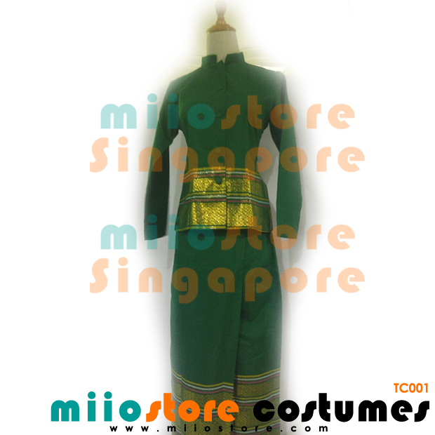 Thai Costumes - miiostore Costumes Singapore - Chut Thai TC001