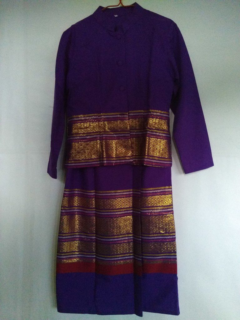 Purple Thai Costumes - miiostore Costumes Singapore
