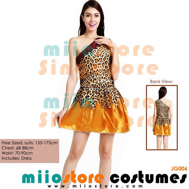 Jungle Costumes Singapore - Safari Zoo Leopard Prints - miiostore Costumes Singapore - JG006