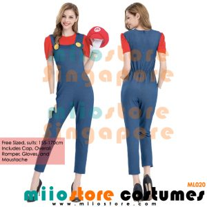 Sexy Ladies Pants Mario Costumes Singapore - miiostore Costumes Singapore - ML020