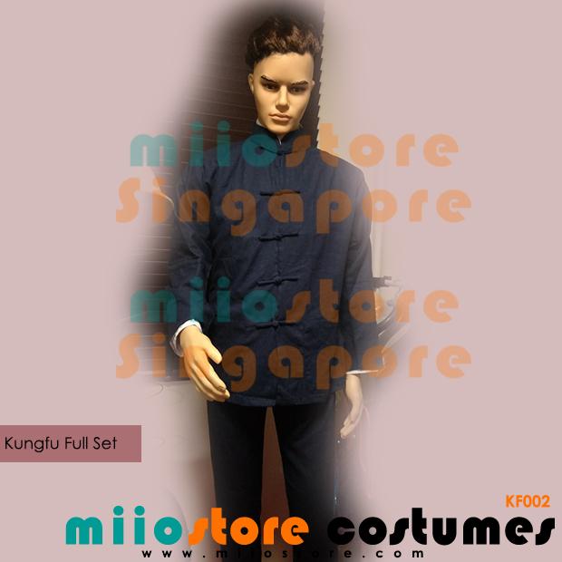 Chinese Kungu Costumes - miiostore Costumes Singapore - KF002