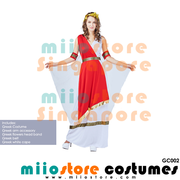 Greek Costumes - GC002 - miiostore Costumes Singapore