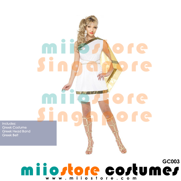Greek Costumes - GC003 - miiostore Costumes Singapore
